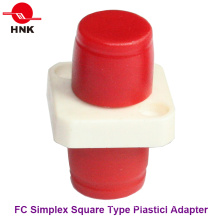 FC Simplex Square Type Plastic Fiber Optic Adapter